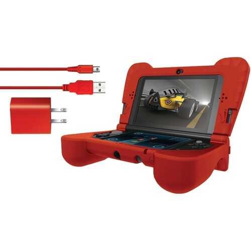 dreamGEAR DG3DSXL-2275 Nintendo 3DS XL Power Play Kit (Red)