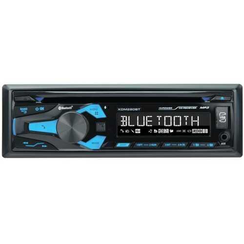 Dual XDM280BT Single-DIN In-Dash CD Receiver with Bluetooth
