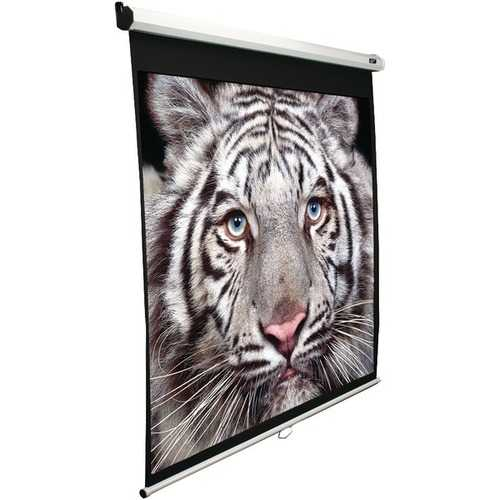 "Elite Screens M100H 100"" Manual Pull-down B Series Projection Screen (16:9 format; 49"" x 87"")"