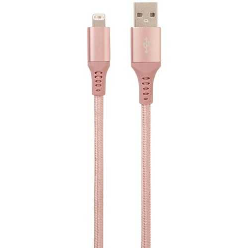 Helix ETHLT10RG Charge and Sync USB Cable with Lightning Connector, 10 Feet (Rose Gold)