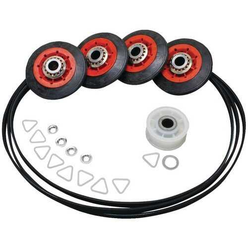 ERP 4392067 Dryer Drum Roller/Idler/Belt Kit for Whirlpool