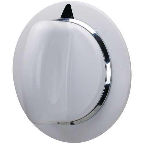 ERP WE1M654 Knob for GE Appliance (Dryer Knob WE1M654)