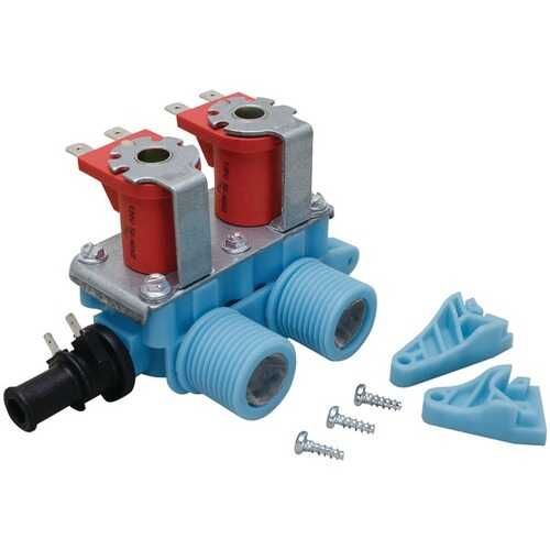 ERP WV-2 Washer Water Valve (Whirlpool 3979346 & 22002708, GE WH13X10006 & Electrolux 134890600)