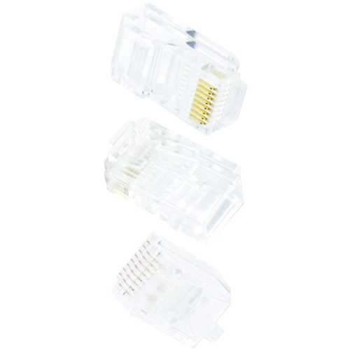 Ethereal C6T 8-Pin CAT-6 Crimp Connector, 50 pk