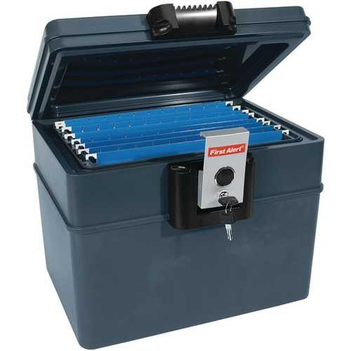 First Alert 2037F .62 Cubic-ft Water and Fire Protector File Chest