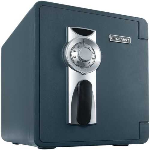 First Alert 2087F-BD .94 Cubic-ft Waterproof and Fire-Resistant Bolt-Down Combination Safe