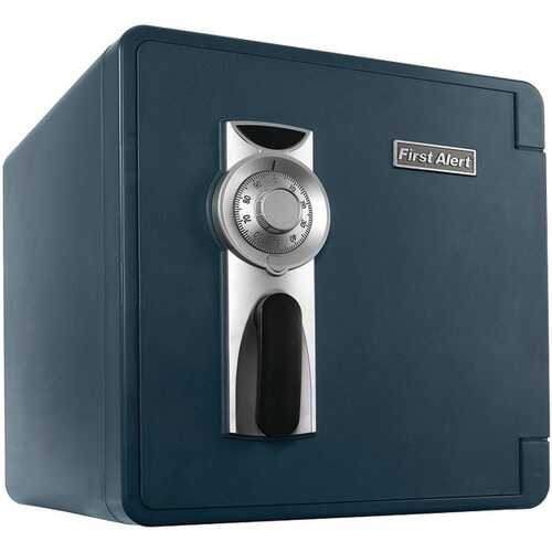 First Alert 2092F-BD 1.3 Cubic-ft Waterproof and Fire-Resistant Bolt-Down Combination Safe
