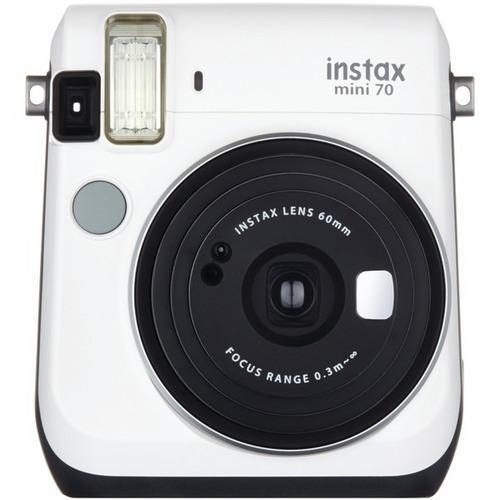Fujifilm(R) 16496043 Instax(R) Mini 70 Instant Camera (White)