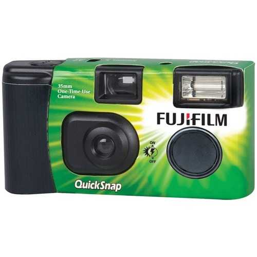 Fujifilm(R) 7033661 QuickSnap(R) Flash 400 Disposable Single-Use Camera