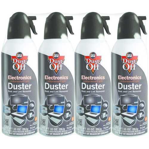Dust-Off DPSXL4A 10oz Electronics Dusters, 4 pk
