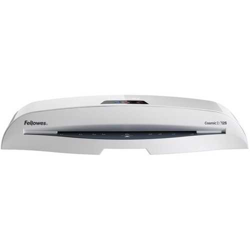 Fellowes 5726301 Cosmic2 125 Laminator with Pouch Starter Kit