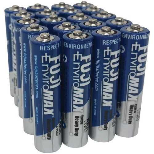 Fuji Batteries 3400BP20 EnviroMax AAA Extra Heavy-Duty Batteries (20 pk)