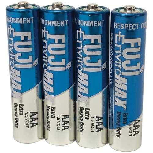 Fuji Batteries 3400BP4 EnviroMax AAA Extra Heavy-Duty Batteries (4 pk)