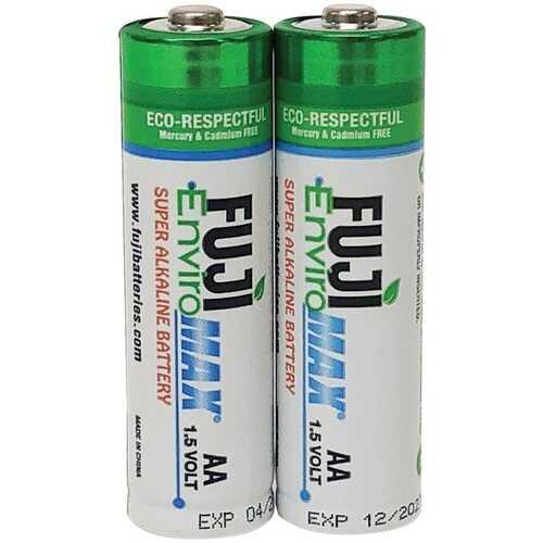 Fuji Batteries 4300BP2 EnviroMax AA Super Alkaline Batteries (2 pack)