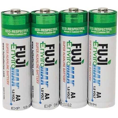 Fuji Batteries 4300BP4 EnviroMax AA Super Alkaline Batteries (4 pack)