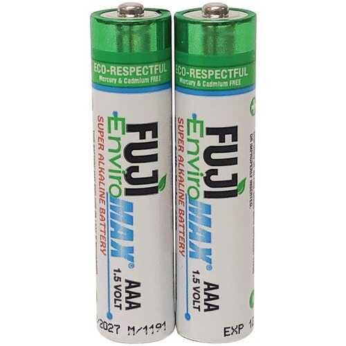 Fuji Batteries 4400BP2 EnviroMax AAA Super Alkaline Batteries (2 Pack)