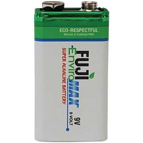 Fuji Batteries 4600BP1 EnviroMax 9-Volt Super Alkaline Battery