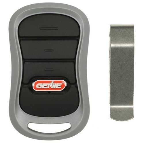 Genie 37330R 3-Button Garage Door Opener Remote