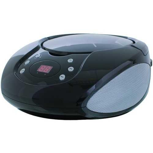 GPX BC112B Boom Box & CD Player
