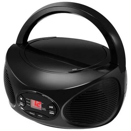 GPX BCB119B CD, FM Radio, and Wireless Boombox