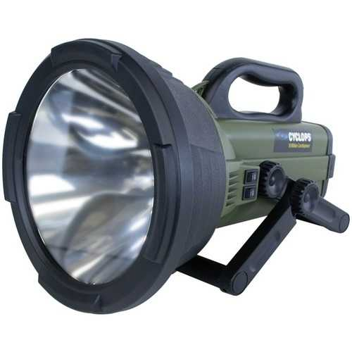Cyclops C18MIL Colossus 18 Million Candlepower Rechargeable Spotlight