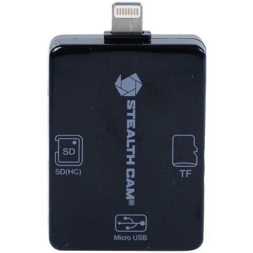 Stealth Cam STC-SDCRIOS iOS Card Reader