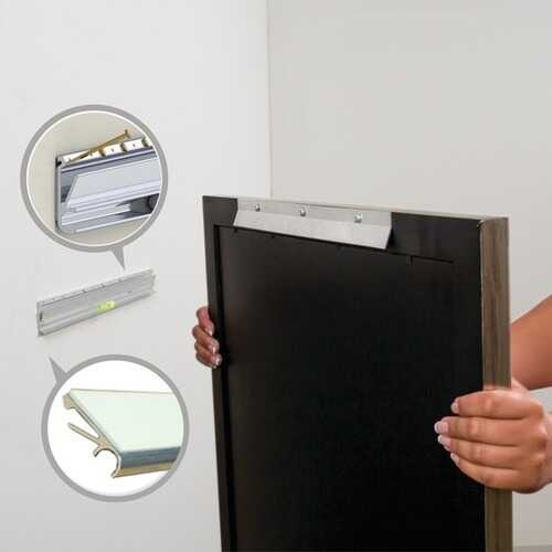 """Hangman APT-18 Apartment Picture & Mirror Hanger (18""""; Holds 150 Pounds)"""
