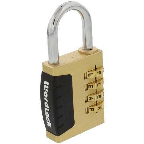 WordLock PL-056-SL 4-Dial Combination Sports Lock