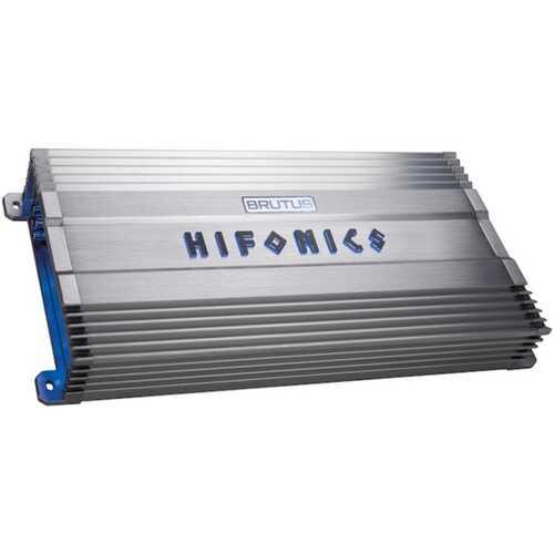 Hifonics BG-1000.4 BRUTUS Gamma BG Series 1,000-Watt Max 4-Channel Super A/B-Class Amp