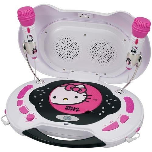 Hello Kitty(R) KT2003MBY Karaoke System & CD Player