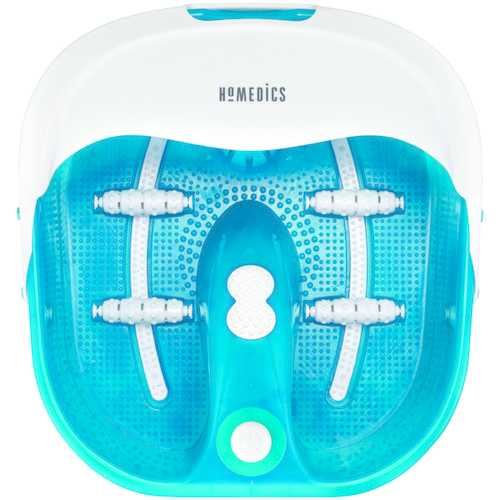 HoMedics FB-400 Bubble Spa Pro Footbath with Heat Boost Power