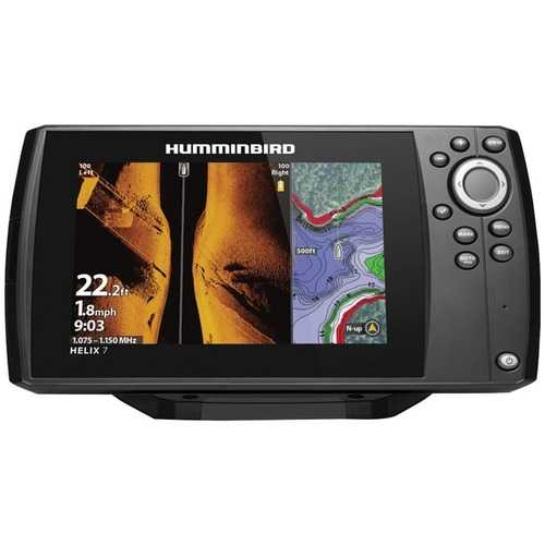 Humminbird 410950-1 HELIX 7 CHIRP MEGA SI GPS G3 Fishfinder