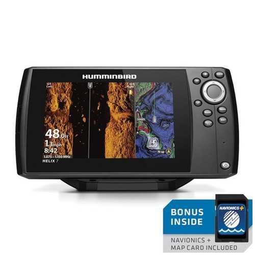 Humminbird 410950-1NAV HELIX 7 CHIRP MEGA SI GPS G3 Nav+ Fishfinder