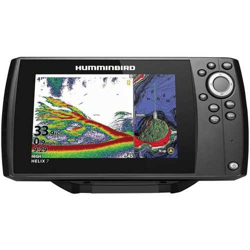 Humminbird 411070-1CHO HELIX 7 CHIRP MEGA DI GPS G3N CHO Fishfinder with Bluetooth & Ethernet