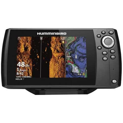Humminbird 411080-1 HELIX 7 CHIRP MEGA SI GPS G3N Fishfinder with Bluetooth & Ethernet