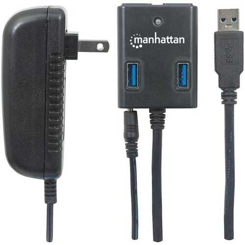 Manhattan(R) 162302 SuperSpeed USB 3.0 Hub