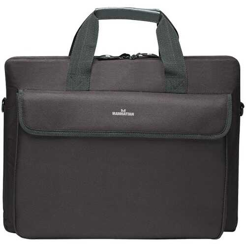 "Manhattan 438889 London 15.6"" Notebook Computer Briefcase"