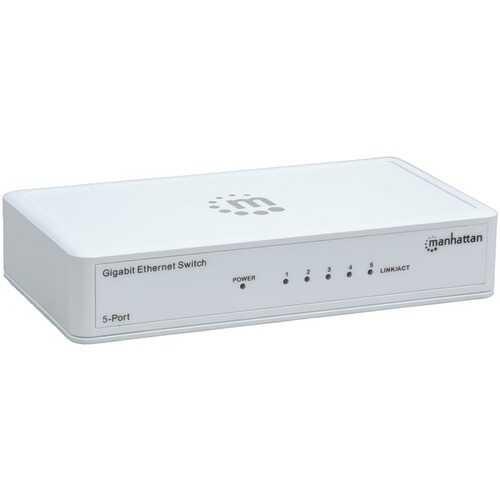 Manhattan 560696 Gigabit Ethernet Switch (5 Port)