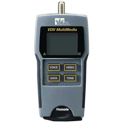 IDEAL(R) 33-856 VDV Multimedia Cable Tester