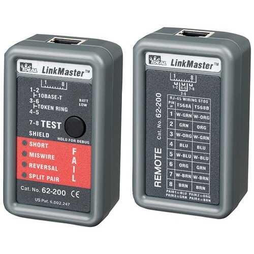 IDEAL(R) 62-200 LinkMaster(TM) Ethernet Tester