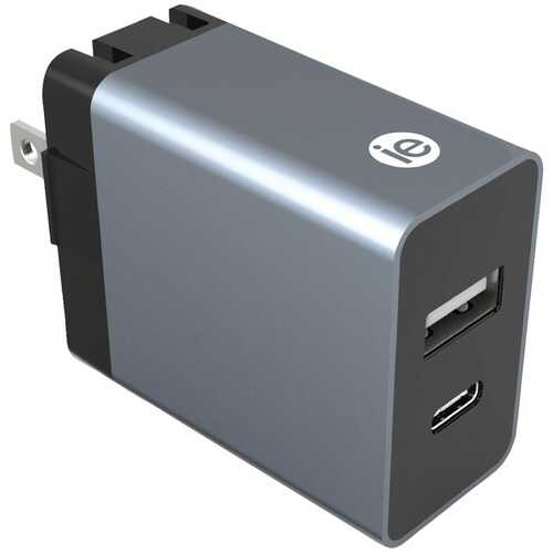 iEssentials IEN-AC31A1C-WT 3.4-Amp Dual-USB Wall Charger