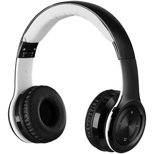 iLive IAHB239B Bluetooth Over-the-Ear Headphones with Microphone (Black)