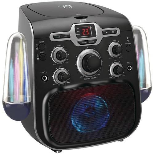 iLive IJB585B Karaoke Party Machine with Bluetooth(R)