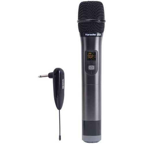 Karaoke USA WM900 WM900 900MHz UHF Wireless Handheld Microphone