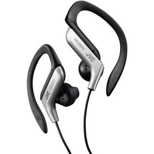 JVC HAEB75S Ear-Clip Earbuds (Silver)