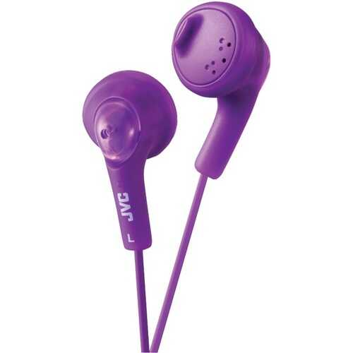 JVC HAF160V Gumy Earbuds (Violet)
