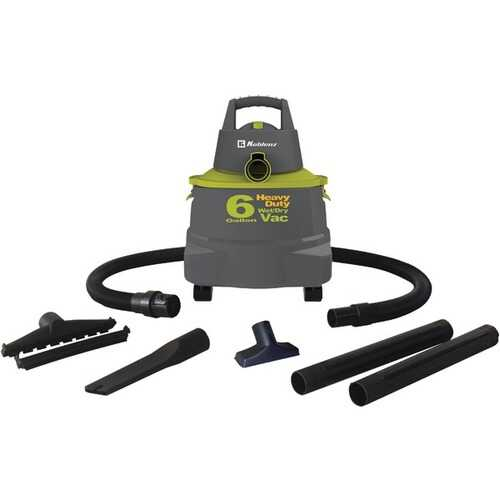 Koblenz WD-6K Wet/Dry Vacuum Cleaner with 6-Gallon Tank