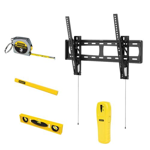 "Stanley 37"" - 60"" Tilt Tv Mount Bundle"