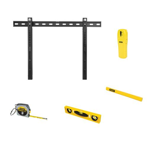 "Stanley 40"" - 65"" Fixed Tv Mount Bundle"