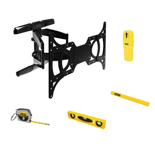"Stanley 37"" - 65"" Full-motion Tv Mount Bundle"